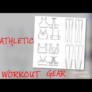 Athletic Workout Sports Clothes
